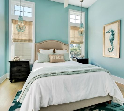 Turquoise Decor Ideas for the Bedroom | Turquoise bedroom decor .