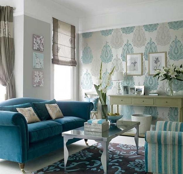 22 Ideas to Use Turquoise Blue Color for Modern Interior Design .
