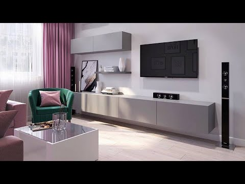 TV Stand decor Ideas / modern TV stand 2019 - YouTu
