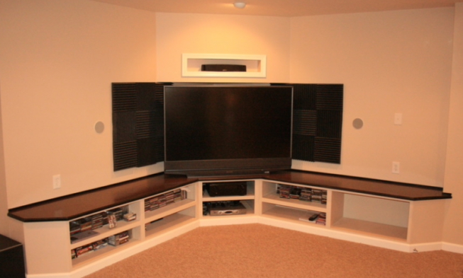 37+ Creative DIY Corner Tv Stand Designs and Ideas for Your Home .