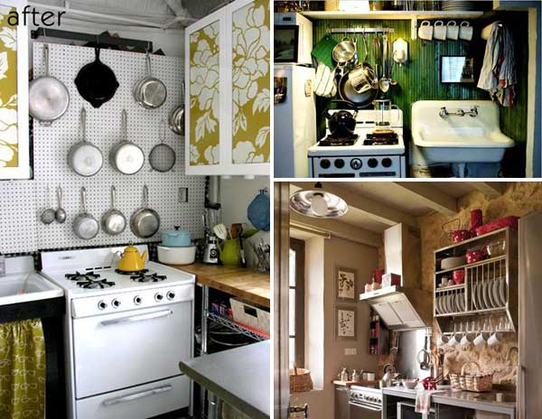 38 Cool Space-Saving Small Kitchen Design Ideas - Amazing DIY .