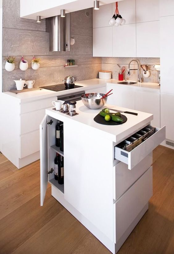 50 Small Kitchen Ideas and Designs — RenoGuide - Australian .