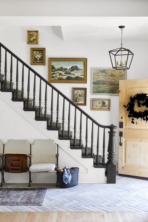 55 Best Staircase Ideas - Top Ways to Decorate a Stairw