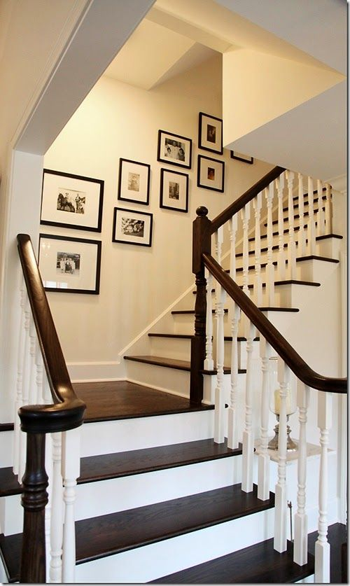 Creative staircase wall decorating ideas | Home, Staircase decor .