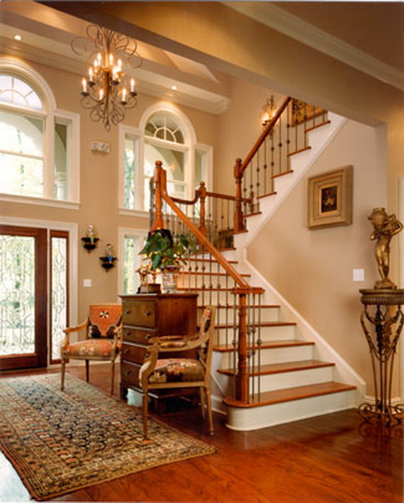 50 Unique Fall Staircase Decor Ideas | family holiday.net/guide to .