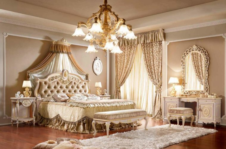 A Lavish and Royal Bed Designs Ideas - The Architecture Desig