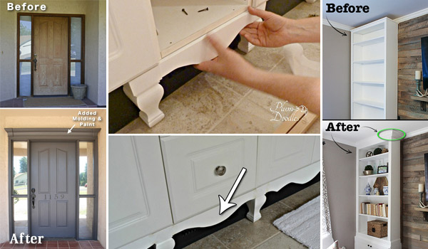 20 Inexpensive Ways to Dress Up Your Home with Molding - Amazing .