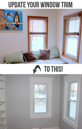 Update your window trim in 2020 | Home, Renovation, Home projec