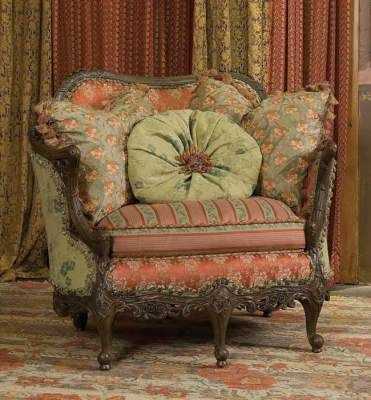 victorian cottage overstuffed furniture styles - Google Search .