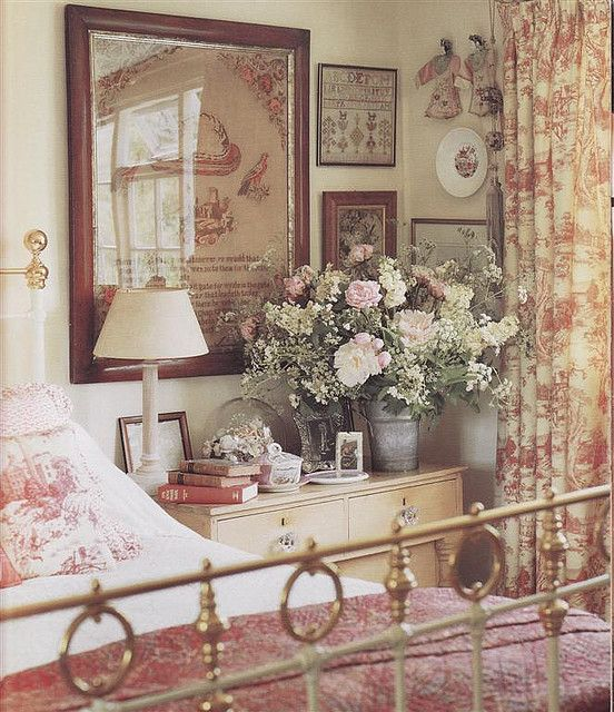 English Country Bedroom | Country cottage bedroom, French country .