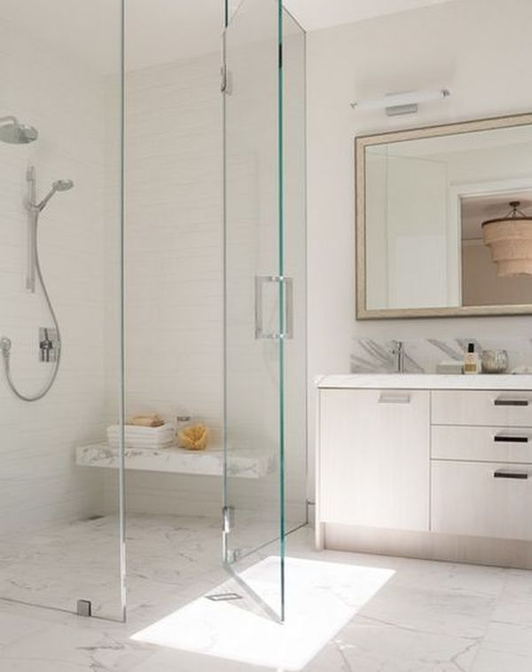 10 Walk-In Shower Design Ideas That Can Put Your Bathroom Over The T