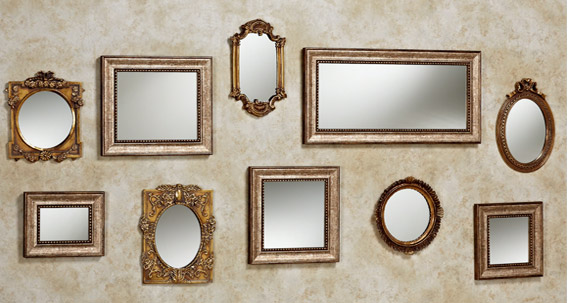 Decorating Your Wall With Accent Mirrors | Touch of Cla