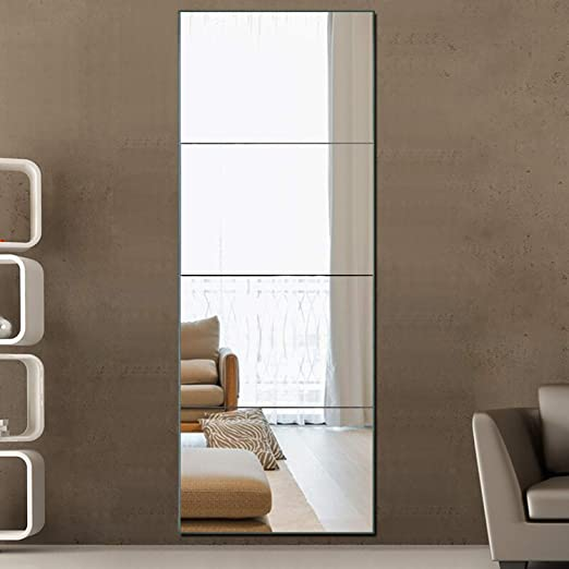 Amazon.com: PexFix Full Length Mirror Frameless Mirror, 12inch X .