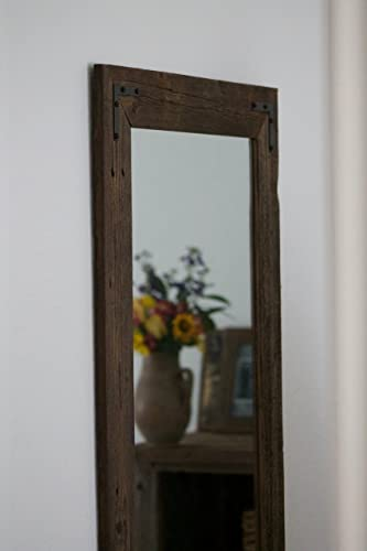 Amazon.com: Rustic Wall Mirror - Large Wall Mirror - 24 x 36 .
