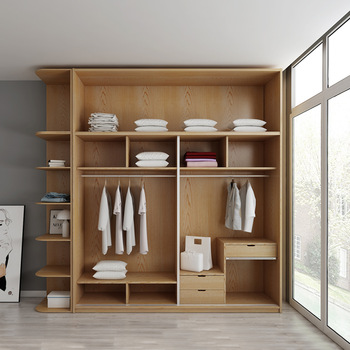 Mdf Small Storage Bedroom Wardrobe Designs With Hanging Rod - Buy .