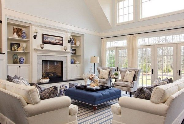 Ways to Decorate Large Living Room