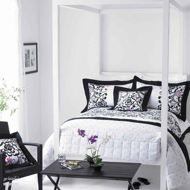 18 Stunning Black and White Bedroom Desig