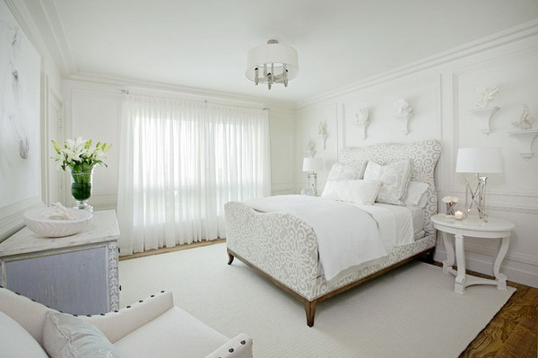 19 Exclusively Gorgeous White Bedroom Designs For All Tast