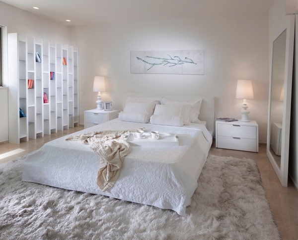 Master bedroom designs in white – modern home interior ide