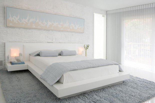 16 Delightful White Bedroom Designs That Abound Elegan