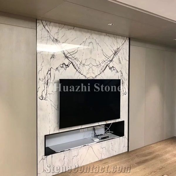 White Marble/ Interior Design/ Home Decor Product/Marble Wall .