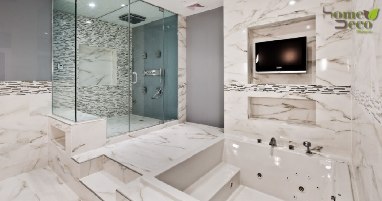 6 Elegant and Classy White Marble Bathroom Designs for Every Home .