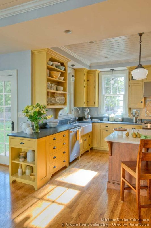 Country Kitchen Design Pictures and Decorating Ideas | Country .