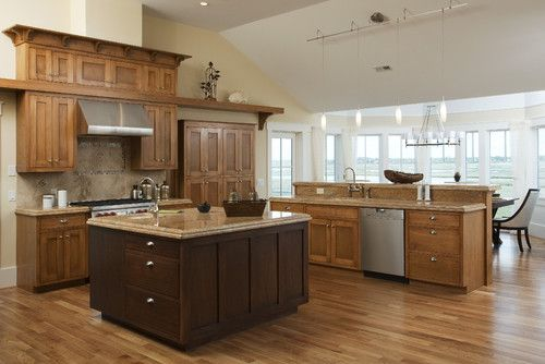 Wood Tones in Kitchen Design Ideas