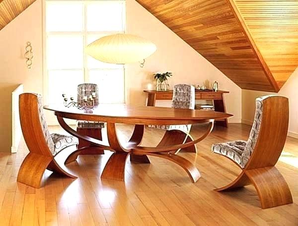 modern wood dining table design – omlot.in