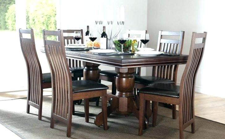 wooden glass top dining table – cornesandsloane.