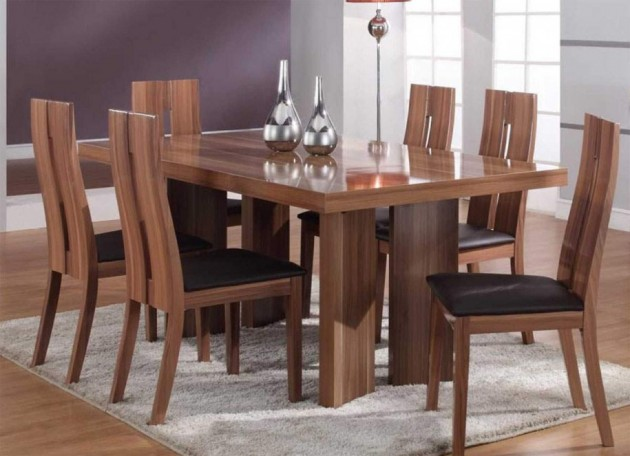16 Fascinating Wooden Dining Table Designs For Warm Atmosphere In .