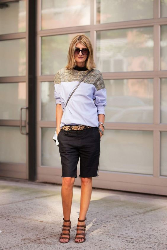 Bermuda shorts casual