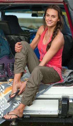 Pants and Bottoms: Outfit Ideas   Athleta   Cute camping outfits .