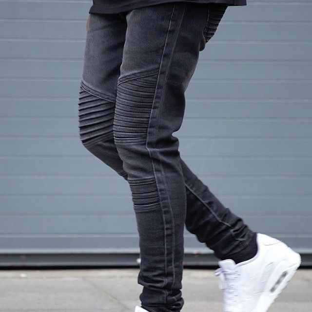 "Men's Fashion Post on Instagram: ""The @marcwenn Biker jeans are ."