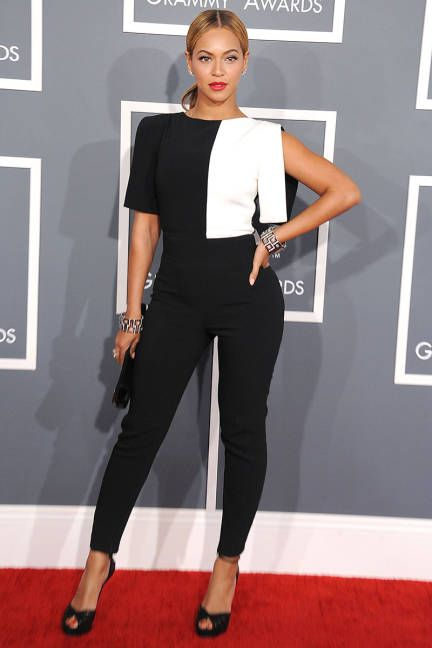 Black and white overall Beyonce