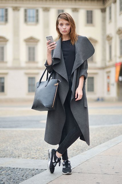 22 Fashionable Duster Coat Outfits - Styleohol