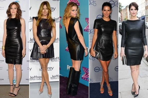 Now Trending: LBLD (A.K.A. Little Black Leather Dress) - Outfit .