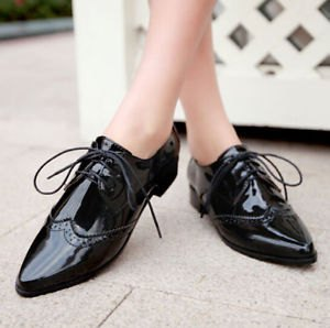 black leather shoes with midi shift dress