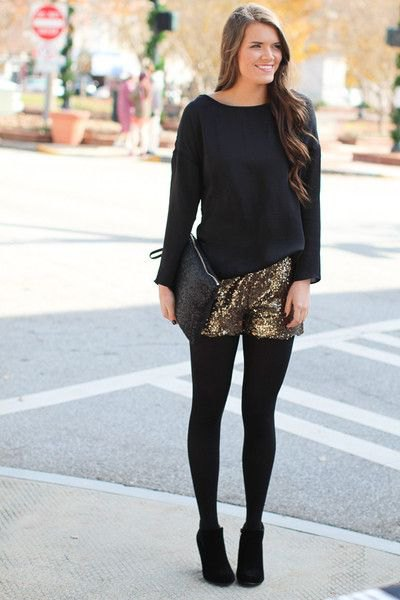 black loose fitting sweater gaiters