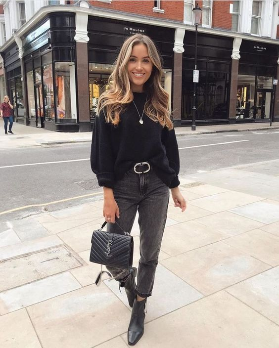 The Best Black Mom Jeans Outfit Guide 2020 Fashion Tren