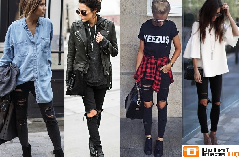 How to Better Wear Black Jeans: 50+ Great Ideas - Outfit Ideas