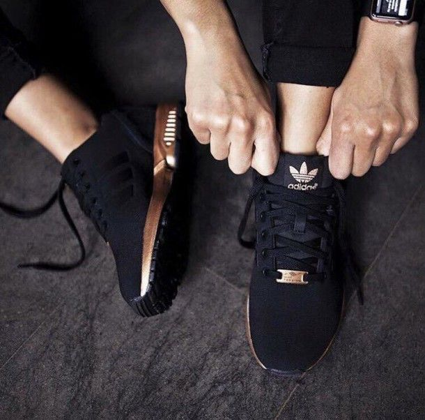 Find Out Where To Get The Shoes | Black adidas shoes, Black .