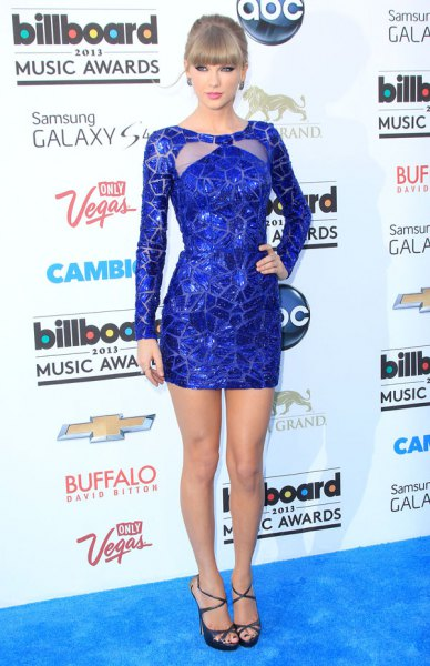 Figure-hugging mini dress with sequins in blue and silver