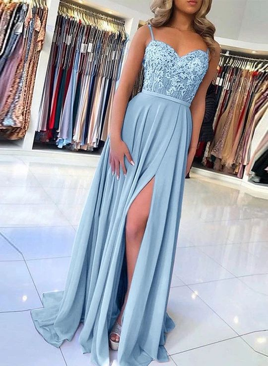 Cute Pink Ruffly Vintage Long Prom Dresses Outfit Ideas for .