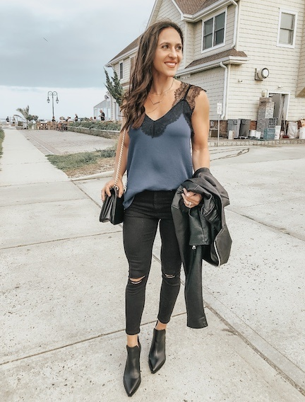 How To Wear Skinny Jeans With Booties | Fit Mommy In Hee