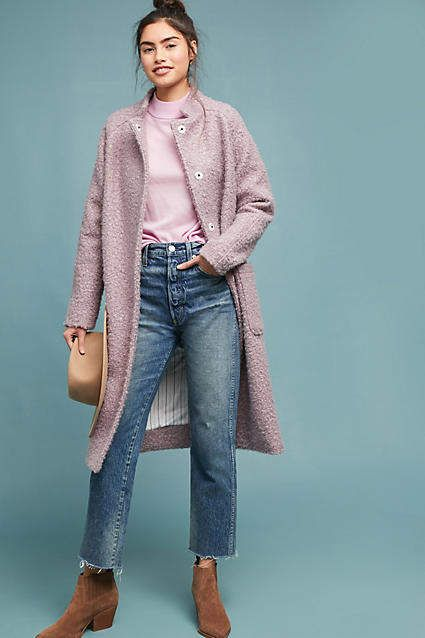 Windermere Boucle Coat | Boucle coat, Boucle, Coat outfi