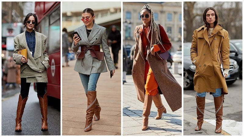How to Wear Knee High Boots - The Trend Spott