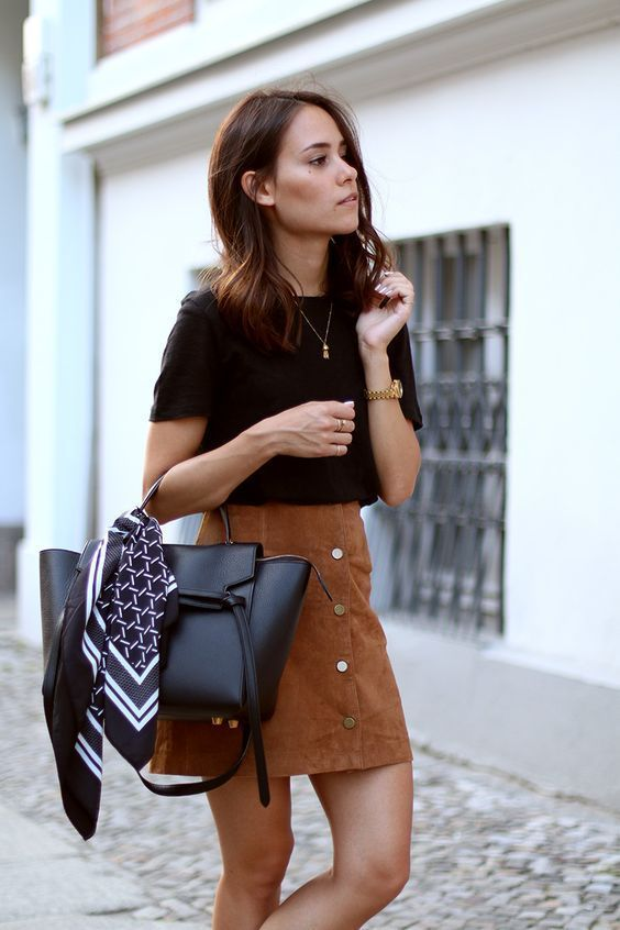How to wear a suede skirt 15 outfit ideas - collection201.co.uk .