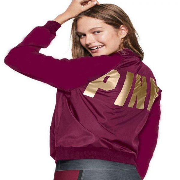 Sports coat in burgundy and gold with gray running shorts