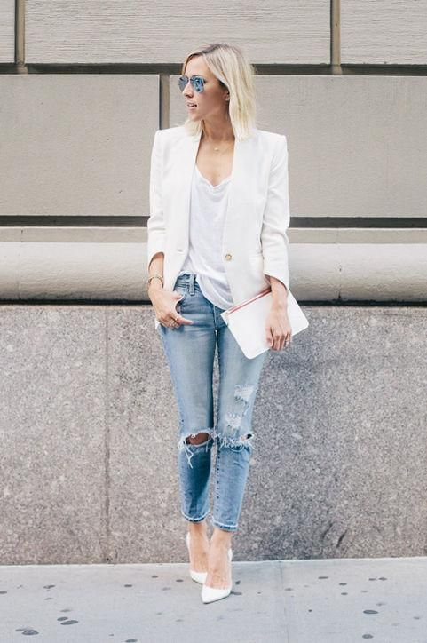8 Perfect Casual-Friday Outfits to Wear All Summer Long | Casual .